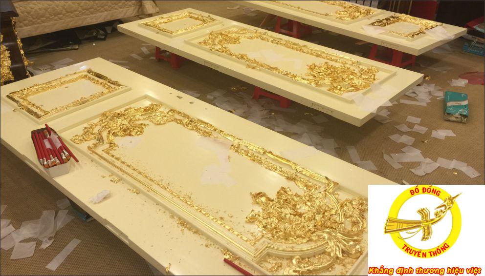 biệt thự dát bằng vàng 24k to nhất hà nội làm nổi biệt tôn thêm phong cách sống quí tộc