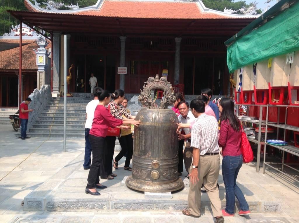 giá đúc đại hồng chuông tại chùa bằng đồng nguyên chất uy tín chất lượng cam kết