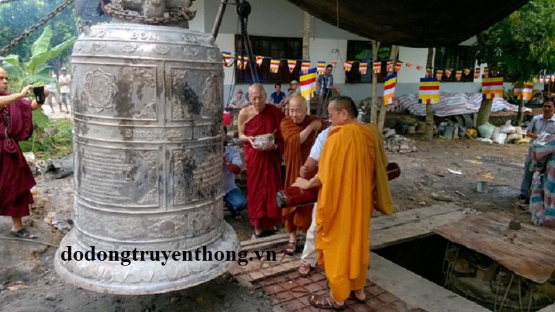 nhận đúc chuông đồng tại chùa đúc bằng đồng nguyên chất