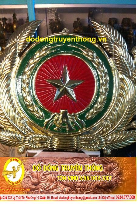 giá huy hiệu công an,logo ngành công an bằng đồng uy tín