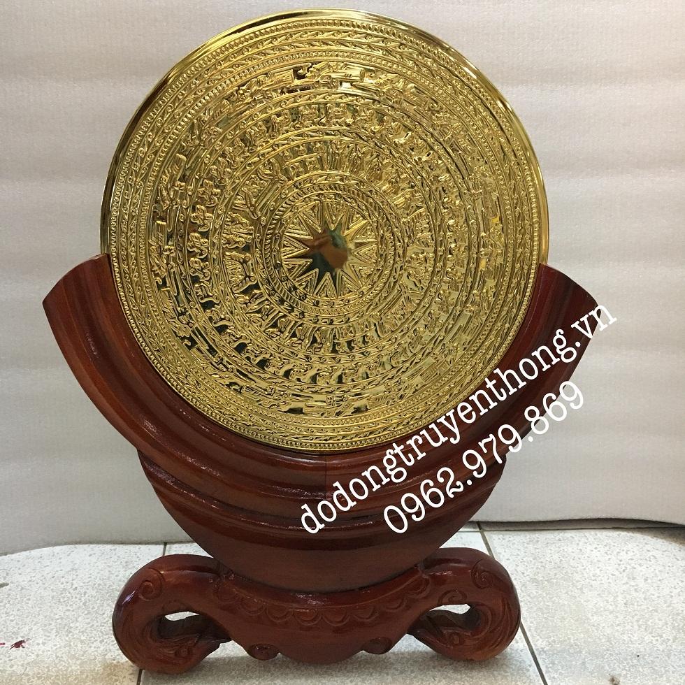 Nhận mạ vàng mặt trống đồng mạ vàng 24k uy tín chất lượng giá rẻ