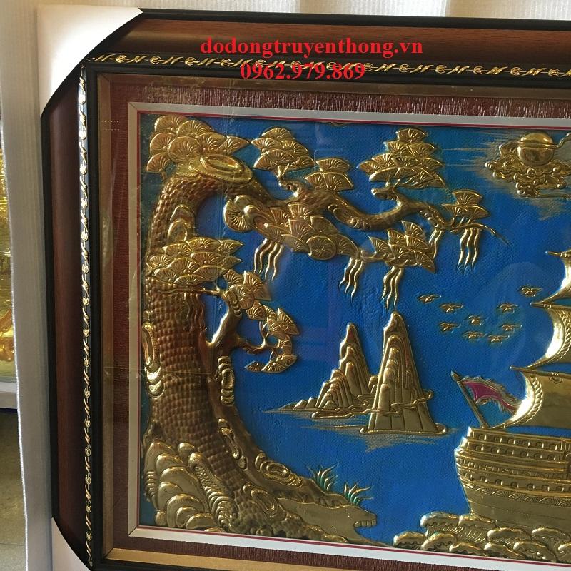 tranh thuyền buồm thường được dùng làm quà tặng tân gia vô cùng độc đáo
