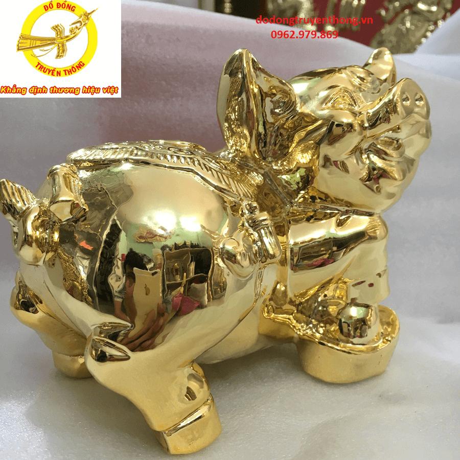 Gía tượng đồng mạ vàng uy tín chất lượng dùng làm quà tặng đối tác ý nghĩa